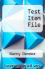 cover of Test Item File