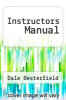 cover of Instructors Manual (6th edition)