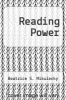 cover of Reading Power (2nd edition)