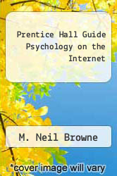Cover of Prentice Hall Guide Psychology on the Internet 1 (ISBN 978-0130277558)