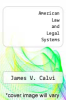 cover of American Law and Legal Systems (2nd edition)