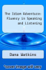 cover of The Idiom Adventure: Fluency in Speaking and Listening