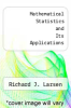 cover of Mathematical Statistics and Its Applications (3rd edition)