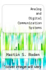 cover of Analog and Digital Communication Systems