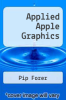 cover of Applied Apple Graphics