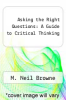 cover of Asking the Right Questions: A Guide to Critical Thinking (2nd edition)