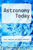 cover of Astronomy Today (1st edition)