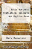 cover of Basic Business Statistics: Concepts and Applications (3rd edition)
