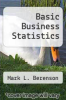 cover of Basic Business Statistics (4th edition)