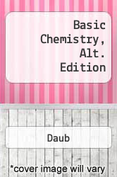 Cover of Basic Chemistry, Alt. Edition 92 (ISBN 978-0130594525)