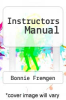 cover of Instructors Manual