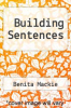 cover of Building Sentences (2nd edition)
