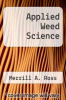 cover of Applied Weed Science (3rd edition)