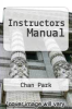 cover of Instructors Manual (3rd edition)