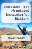 cover of Conexiones-Text >Annotated Instructor`s. Edition< (2nd edition)