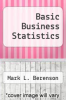 cover of Basic Business Statistics (5th edition)
