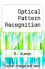 cover of Optical Pattern Recognition (1st edition)