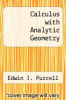 cover of Calculus with Analytic Geometry (4th edition)