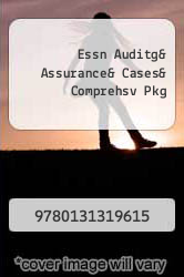 Cover of Essn Auditg& Assurance& Cases& Comprehsv Pkg EDITIONDESC (ISBN 978-0131319615)