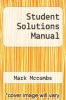 cover of Student Solutions Manual (7th edition)