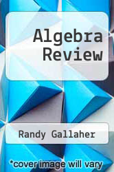Cover of Algebra Review 3 (ISBN 978-0131490468)