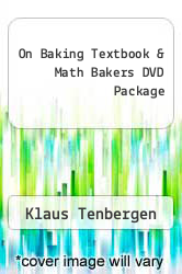 Cover of On Baking Textbook & Math Bakers DVD Package  (ISBN 978-0131554474)