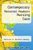 cover of Contemporary Maternal-Newborn Nursing Care (6th edition)
