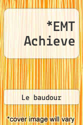 Cover of EMT Achieve 12 (ISBN 978-0131717398)