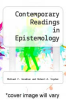 cover of Contemporary Readings in Epistemology