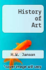 cover of History of Art (5th edition)