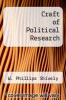 cover of Craft of Political Research (3rd edition)
