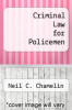 cover of Criminal Law for Policemen (2nd edition)