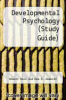 cover of Developmental Psychology (Study Guide) (5th edition)