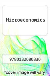 Cover of Microeconomics 7 (ISBN 978-0132080330)