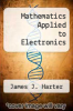 cover of Mathematics Applied to Electronics (3rd edition)