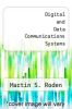 cover of Digital and Data Communications Systems