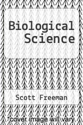 Cover of Biological Science 3 (ISBN 978-0132253086)
