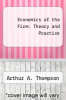 cover of Economics of the Firm: Theory and Practice (2nd edition)
