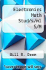 cover of Electronics Math Stud/s/ml S/M