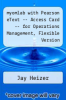 cover of myomlab with Pearson eText -- Access Card -- for Operations Management, Flexible Version (9th edition)