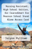 cover of Nursing Assistant, High School Edition, for CourseSmart for Pearson School Stand Alone Access Card