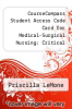 cover of CourseCompass Student Access Code Card for Medical-Surgical Nursing: Critical Thinking in Patient Care (5th edition)