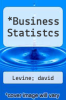 cover of Business Statistcs