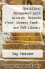 cover of Operations Management with myomLab, Pearson eText (Access Card), and DVD Library (10th edition)