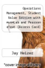 cover of Operations Management, Student Value Edition with myomLab and Pearson eText (Access Card) (10th edition)