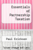 cover of Essentials of Partnership Taxation