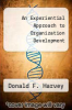 cover of An Experiential Approach to Organization Development (3rd edition)