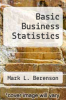 cover of Basic Business Statistics (6th edition)