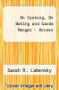 cover of 2012 MyCulinaryLab with Pearson eText -- Access Card -- for On Cooking, On Baking, and Garde Manger (5th edition)