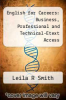 cover of English for Careers: Business, Professional and Technical-Etext Access (11th edition)